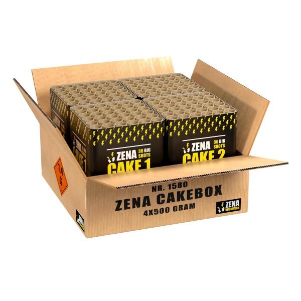 Zena Cakebox Verbundfeuerwerk Zena Feuerwerk