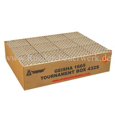 Tournament Box Batteriefeuerwerk Geisha Geisha online bestellen