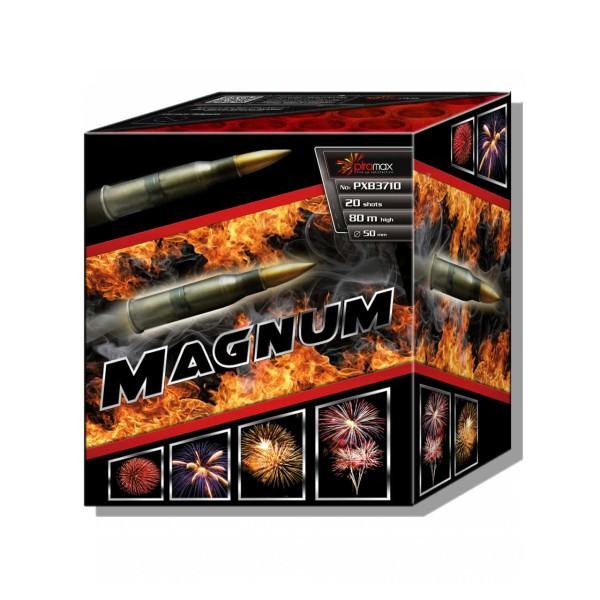 Magnum 50mm Kategorie F3 Batteriefeuerwerk Piromax