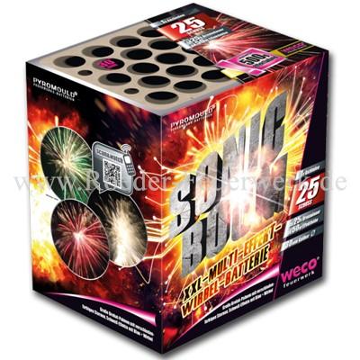 Sonic Boom Batteriefeuerwerk weco feuerwerk