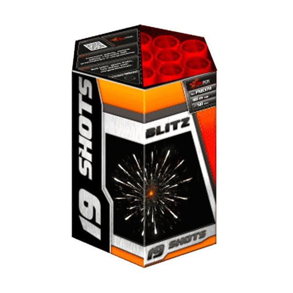 Blitz 50mm Kategorie F3 Batteriefeuerwerk Piromax