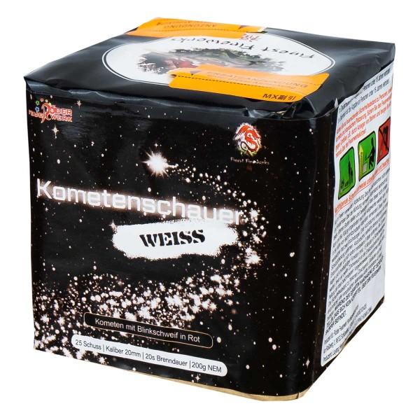 Kometenschauer Weiß- Glitter Batteriefeuerwerk Röder Feuerwerk