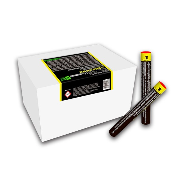 Figurenlicht raucharm gelb Bühnenfeuerwerk Figurenlichter Blackboxx Fireworks