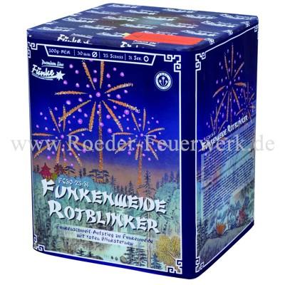 Funkenweide Rotblinker FC30-25-31 Batteriefeuerwerk funke