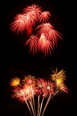 Feuerwerk kann man zu jedem Fest zünden, ob Hochzeit, Stadtfest, Geburtstag oder Konzert