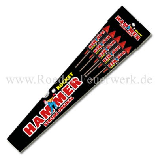 Hammer Rockets Raketen und Sortimente Raketensortimente GAOO