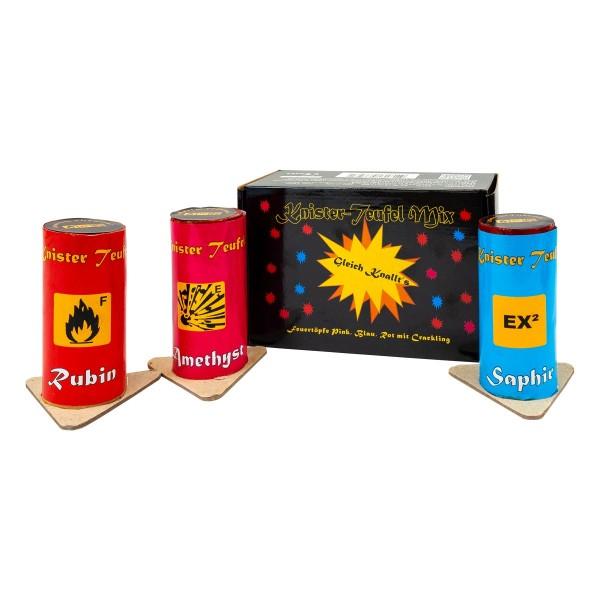 Lonestar Knisterteufel Mix Sortiment bei Röder Feuerwerk