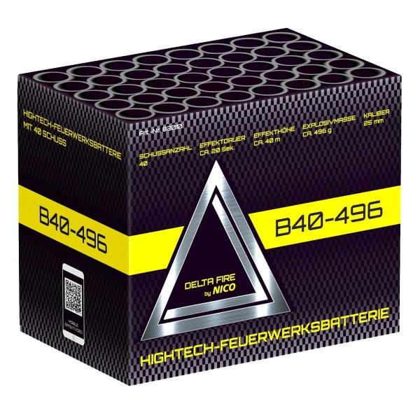 Delta Fire B40-496 Batteriefeuerwerk von Nico online kaufen