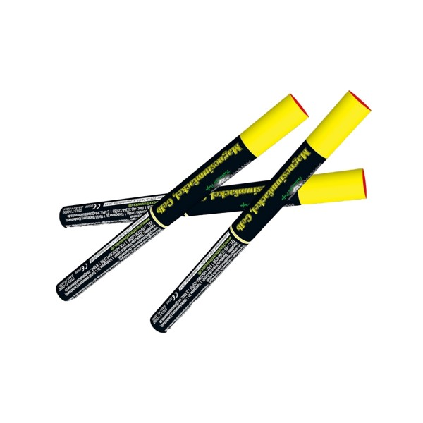 Magnesiumfackeln gelb Bühnenfeuerwerk Bengalfeuer Blackboxx Fireworks
