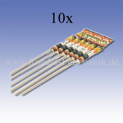 Headbangers 10er- Kiste Raketen und Sortimente Raketensortimente Lesli Feuerwerk