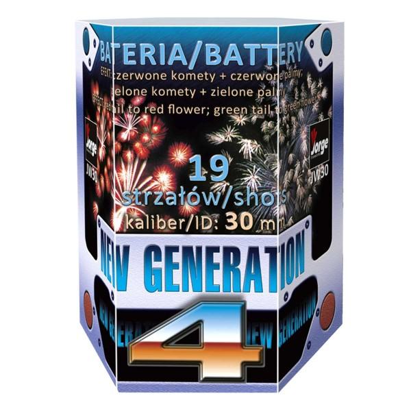 New Generation 4 Batteriefeuerwerk Jorge Feuerwerk