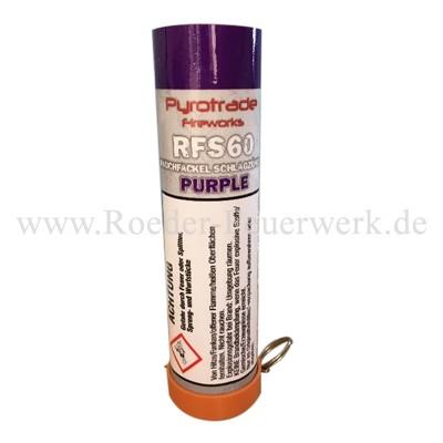 Rauchfackel Purpur mit Schlagzünder Bühnenfeuerwerk Rauch PGE Pyrotrade