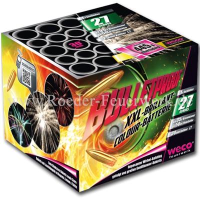 Bulletproof Batteriefeuerwerk weco feuerwerk