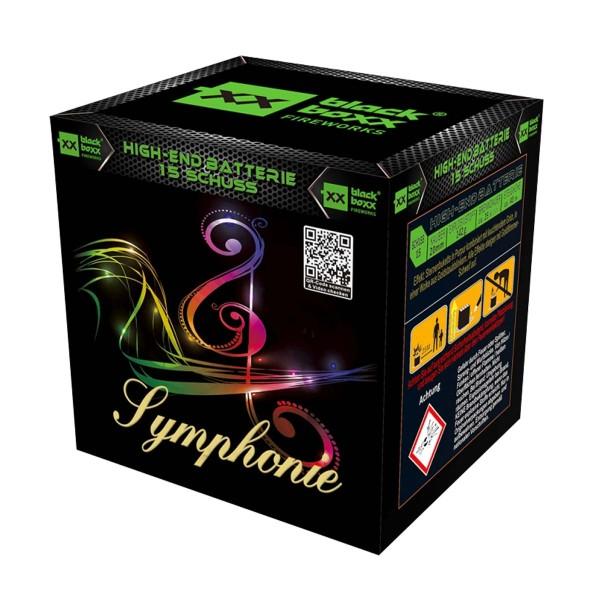 Symphonie Batteriefeuerwerk Blackboxx Fireworks