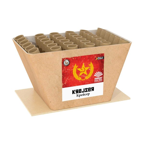 Krejser 1er- Kiste Batteriefeuerwerk Lesli Feuerwerk