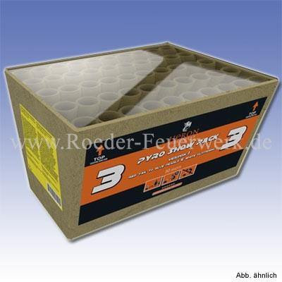 Pyro Show Pack 3- 5 Variante B Batteriefeuerwerk Heron Feuerwerk