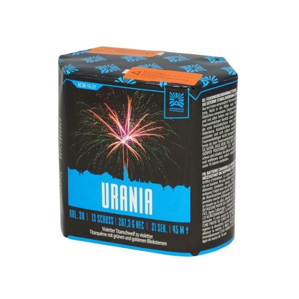 Feuerwerksbatterie Urania von Argento bzw Funke Feuerwerk