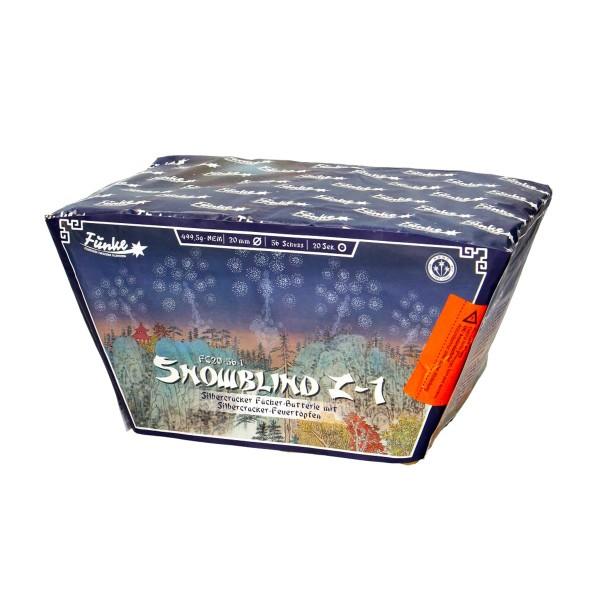 Snowblind Z1 (FC20-56-1) Batteriefeuerwerk funke