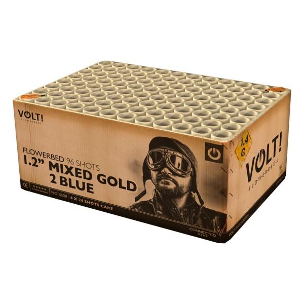 Vuurwerktotal VOLT Mixed Gold 2 Blue bei Röder Feuerwerk kaufen