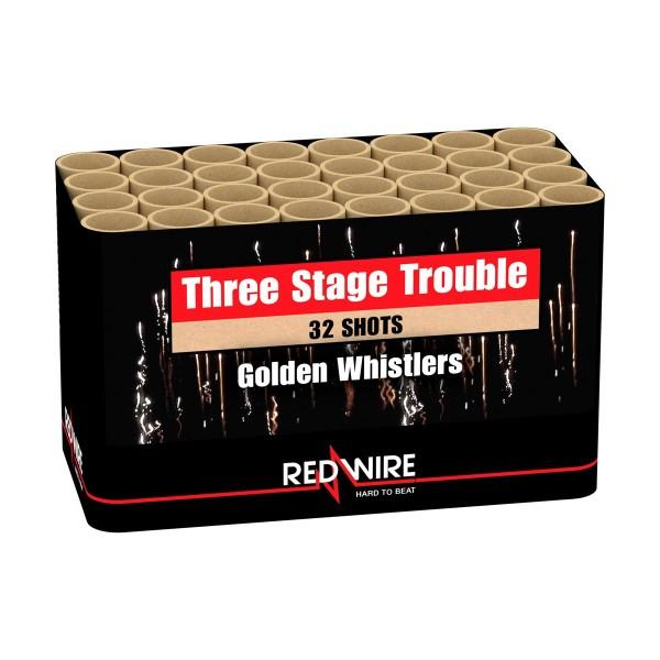 Three Stage Trouble Batteriefeuerwerk Lesli Feuerwerk