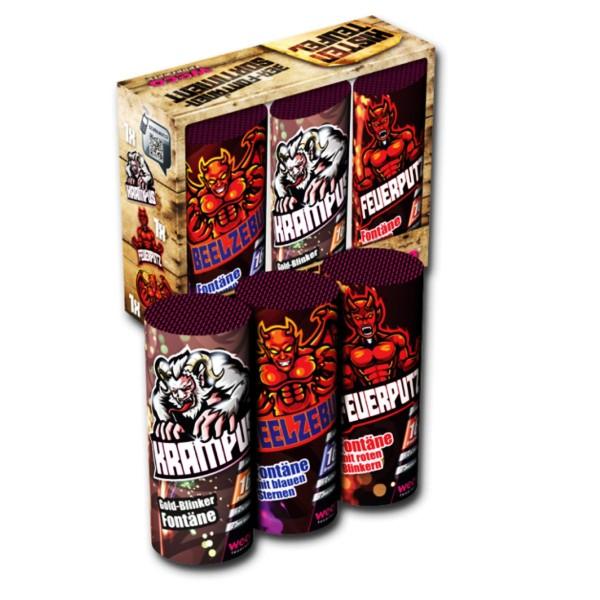 Weco Kistenteufel Feuerwerksfontänen für Silvester