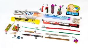 Große Auswahl Kinderfeuerwerk und Jugendfeuerwerk im Shop kaufen, viele F1 Ganzjahresfeuerwerkskörper online erhältlich