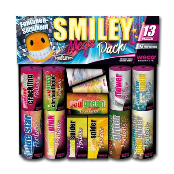 Smiley Mega Pack von Weco Feuerwerk kaufen