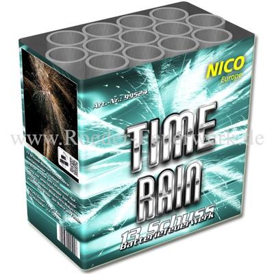 Time Rain Batteriefeuerwerk nico Feuerwerk