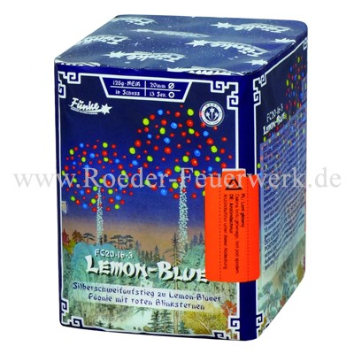 Lemon Blue FC20-16-3