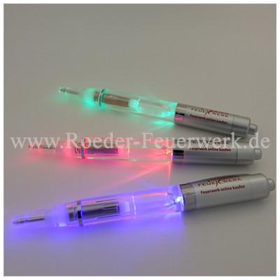 Leuchtkugelschreiber Merchandising Werbemittel Röder Feuerwerk