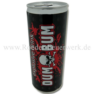 Energy Drink Dumbum Merchandising Werbemittel Klasek