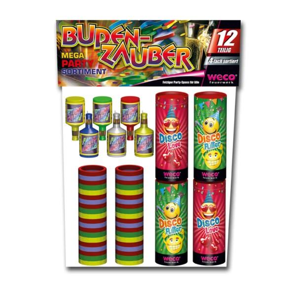 Budenzauber II Jugendfeuerwerk Tischfeuerwerk Weco Feuerwerk