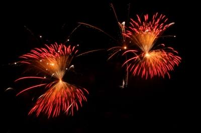 Feuerwerke sieht jeder gern, aber mit ausgewählten Effekten wirkt es nochmals besser