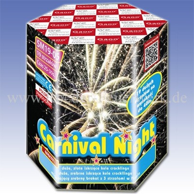 Carnival Night Batteriefeuerwerk Gaoo