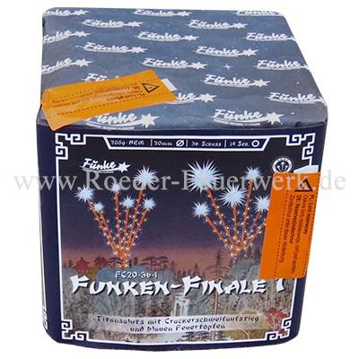 Funken Finale 1 (FC20-36-1) Batteriefeuerwerk funke