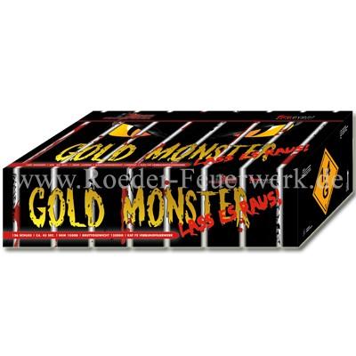 Das Gold Monster Verbundfeuerwerk Röder Feuerwerk