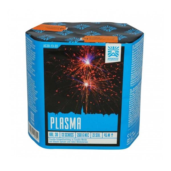 Feuerwerksbatterie Plasma von Funke Feuerwerk bzw Argento