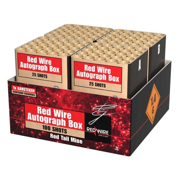 Lesli Red Wire Autograp Box Verbundfeuerwerk günstig online kaufen