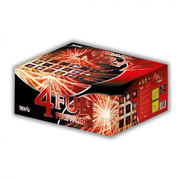 4 Fun Kategorie F3 Batteriefeuerwerk Tropic