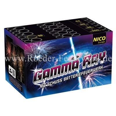 Gamma Ray Batteriefeuerwerk nico Feuerwerk