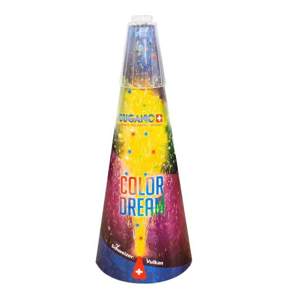 Schweizer Vulkan III Color Dream Kategorie F3 Leuchtfeuerwerk Zink Feuerwerk