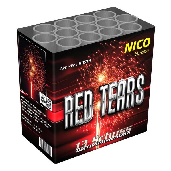 Red Tears Batteriefeuerwerk nico Feuerwerk