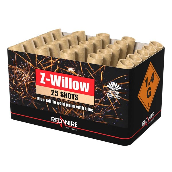 Lesli Feuerwerksbatterie Z-Willow sofort online bestellen
