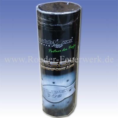 Riesen-Zylinderfontäne Silber 30s