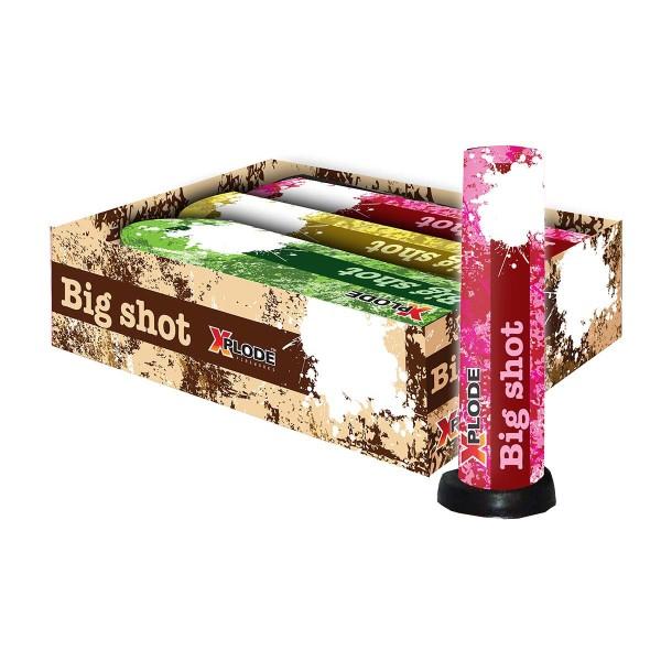 Xplode Big Shot 3er- Set Einzelschuss Bombenrohre Xplode Feuerwerk