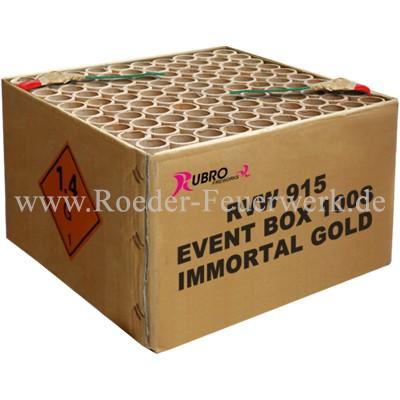 Event Immortal Gold Verbundfeuerwerk Geisha