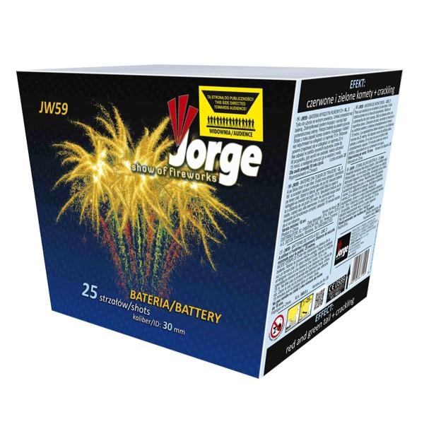 JW59 Show of Fireworks Kategorie F3 Batteriefeuerwerk Jorge Feuerwerk