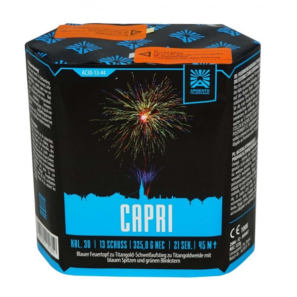 Feuerwerksbatterie Capri von Argento bzw Funke
