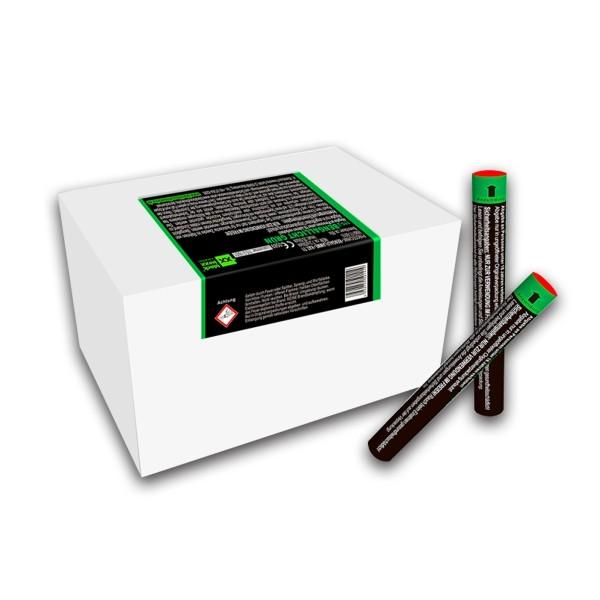Figurenlicht raucharm grün Bühnenfeuerwerk Figurenlichter Blackboxx Fireworks