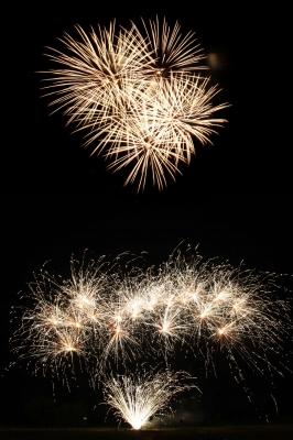 Günstige Alternative zum Großfeuerwerk, ein Feuerwerk zum Stadtfest oder Dorffest selbst zünden